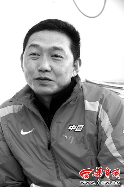 从世界冠军到教练员,黄小平的愿望就是让陕西水上重塑辉煌 本报记者赵彬摄