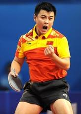 王皓2-3落后逆转吴尚垠携手马龙杀入男单半决赛