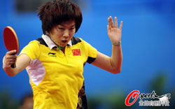 李晓霞0-3落后惊天逆转4-3克郭跃力夺女单冠军