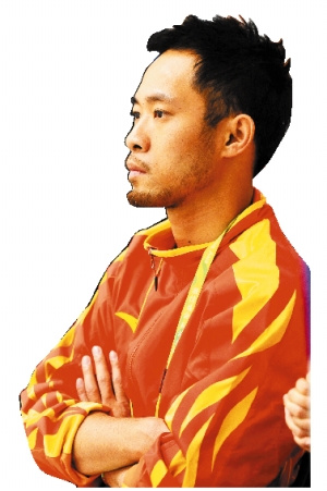 有型的王伟恒胸有成竹。  信息时报记者 朱元斌 摄