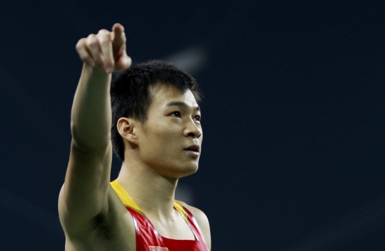 劳义以10秒24的成绩勇夺亚运男子百米桂冠