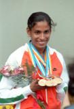 印度短跑名将乌莎
