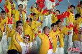 中国代表团受热捧