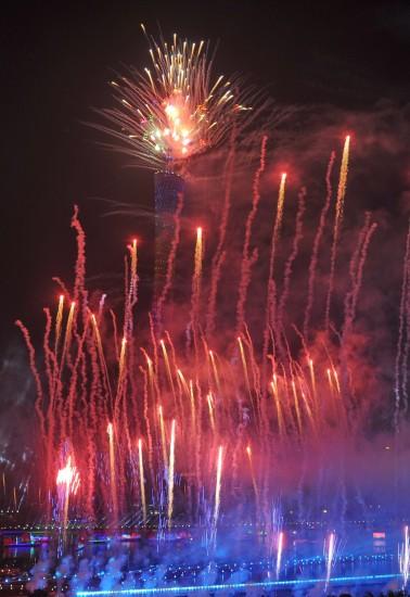 广州亚运开幕式烟火表演