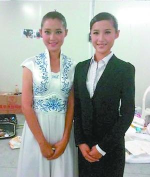 吴怡和双胞胎妹妹