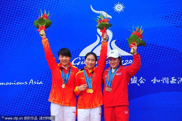 中国包揽金银