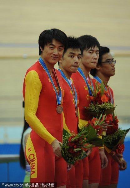 中国获铜牌