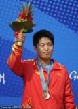 中国选手金泳德摘铜