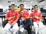 亚运体操男团冠军成员做客新浪聊天