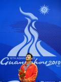 中国选手杨哲是冠军