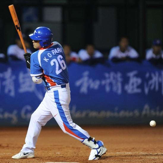 男子棒球决赛韩国夺冠
