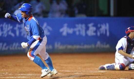 男子棒球韩国队夺冠