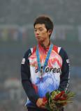 ―男子20公里竞走颁奖仪式