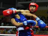 图文-拳击女子48-51公斤级任灿灿夺冠