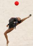 乌里扬娜在赛中