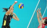 亚运会女排三四名决赛赛况