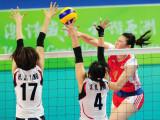 图文-亚运女排决赛中国逆转韩国