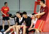中国男篮北仑最后一练