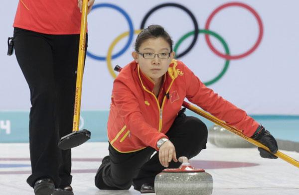 中国女壶负瑞士无缘四强