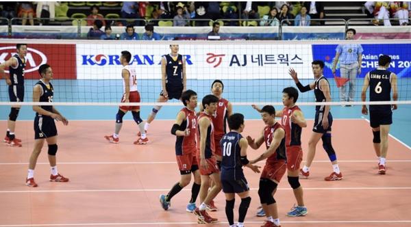 男排不敌韩国无缘铜牌