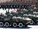 新型轮式步战车方队通过天安门接受检阅