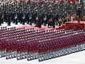 女民兵方队通过天安门接受检阅