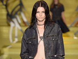 Versace 2014春夏米兰秀场