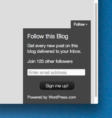 WordPress增加关注按钮