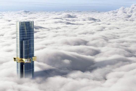 对的,澳大利亚媒体们也想象了一样房子建好后的景观……